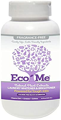 Eco-Me Laundry Whitener Brightener Fragrance Free