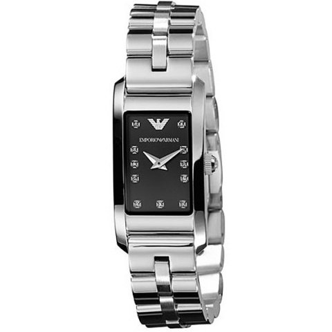 Emporio Armani Stone Set Analogue Ladies Watch - AR3166