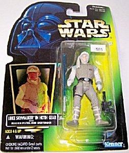 Luke Skywalker In Hoth Gear (Green Card) (Hologram) (Collection 2) - 1