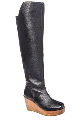 Unique Wedge Knee High Boot