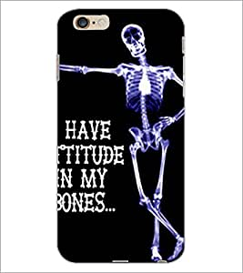 PrintDhaba Quote D-4901 Back Case Cover for APPLE IPHONE 6 PLUS (Multi-Coloured)