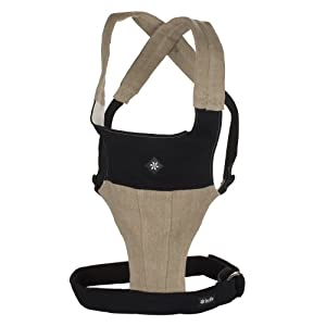 Belle Baby Organic Carriers with Head Support, Organic Sand