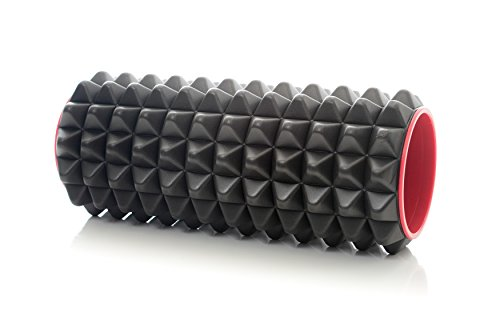 milliard hollow texture foam roller spike 12 l x 5 w sporting goods exercise fitness rollers. Black Bedroom Furniture Sets. Home Design Ideas