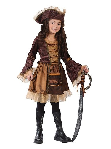 Sassy Victorian Pirate Child Sm Costume Item - Funworld