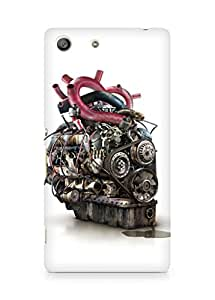 Amez designer printed 3d premium high quality back case cover for Sony Xperia M5 (Abstract 18)