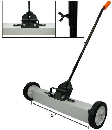 IIT 90280 Magnetic Sweeper Pick Up Tool - 24 Inch