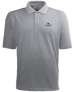 Gonzaga Pique Xtra Lite Polo Shirt (Grey) by Antigua