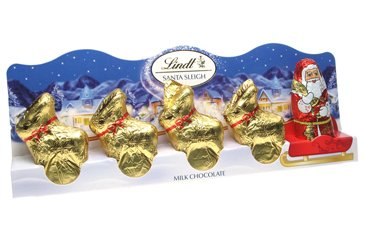 lindt-mini-santa-sleigh-with-4-gold-reindeers
