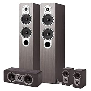 Jamo S 426 HCS 3 WENGE 5-Piece Home Theater System (Wenge) (Discontinued by Manufacturer)