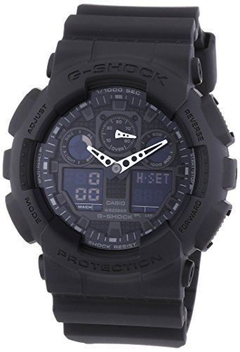 Casio G-Shock Bold Face Watch - Black