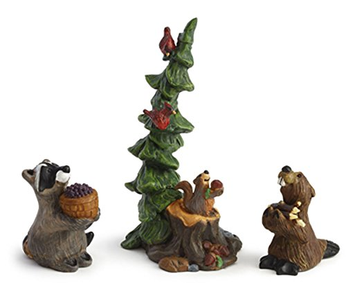 Demdaco BF Forest Nativity Bearers Figs (Bear Nativity Set compare prices)