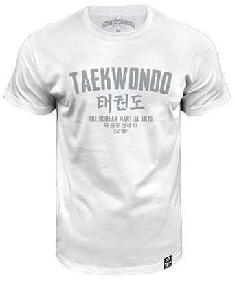 Taekwondo T-shirt The Korean Martial Arts (size Small)