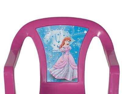 Progarden 46214 Kinder Stapelsessel Sedia Baby 'Princess', 35 x 36,5 x 51,5 cm, Vollkunststoff pink von Progarden bei Gartenmöbel von Du und Dein Garten