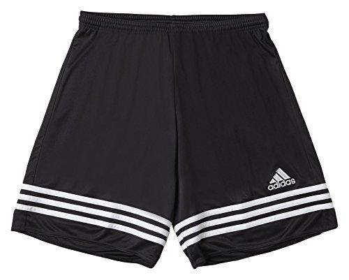 Adidas Entrada 14 Sho Short da Uomo, Nero/Bianco, 116