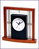 Frank Lloyd Wright Collection - Willits Desktop Clock by Bulova