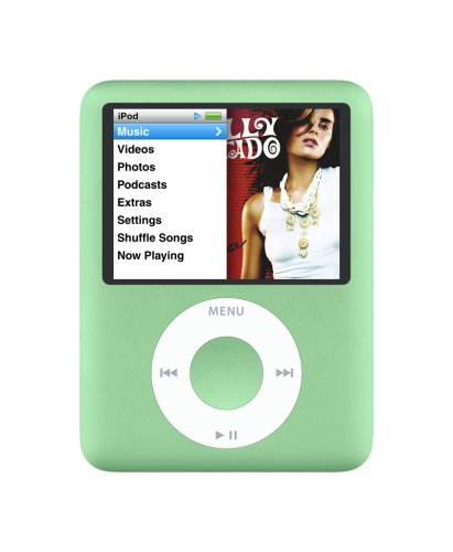 apple-ipod-nano-8-gb-green-3rd-generation-discontinued-by-manufacturer
