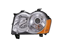 Jeep Grand Cherokee Headlight Hid Without Hid Kit Oe Style Headlamp Left Driv...