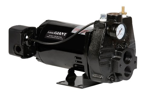 Little Giant CJ5C 1/2-HP Convertible Jet Pump with Injector Kit, Cast Iron