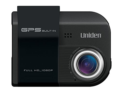 Uniden Dash Cam Automotive Video Recorder with GPS and LDW (Black) Cam945G
