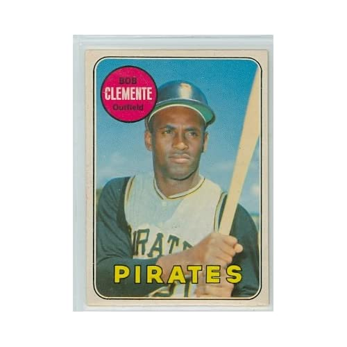 1969 OPC Baseball 50 Roberto Clemente Pirates Excellent sale off 2015