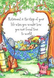 Retirement Greeting Card - Retirement is The