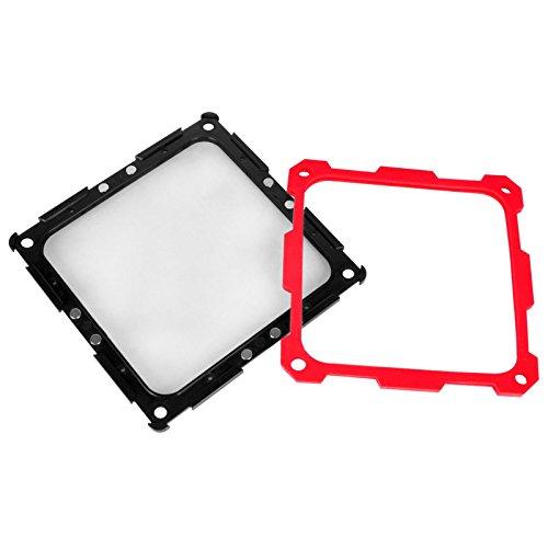 SilverStone SST-FF124BR-E Filtre Magnétique pour Ventilateur PC Noir/Rouge