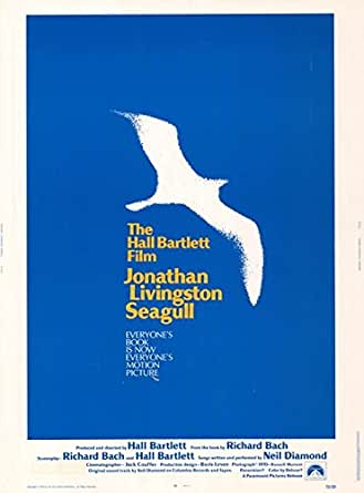 "Jonathan Livingston Seagull - Authentic Original 30"" x 40"" Movie"