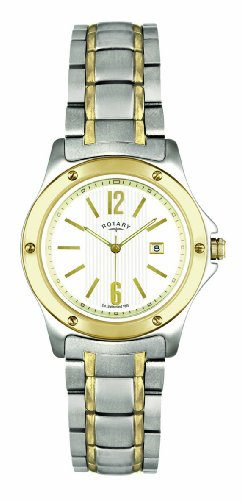 Rotary Ladies Two-Tone Bracelet Watch LB02566/18