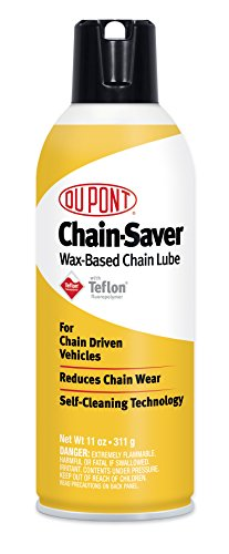 DuPont Teflon Chain-Saver Dry Self-Cleaning Lubricant, 11-Ounce (Motorcycle Chain Wax compare prices)