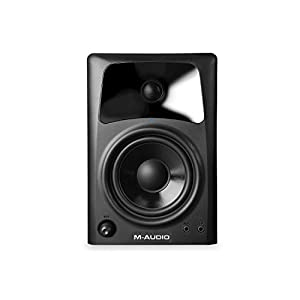 M-Audio AV42 | Active Compact Desktop Reference Monitor Speakers for Professional Media Creation - Pair