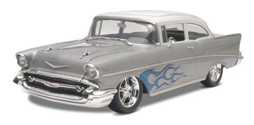Detailed Parts And Decals For 2 Versions - Stock And Custom - Revell '57 Chevy Bel Air 2N1 1:25 Scale