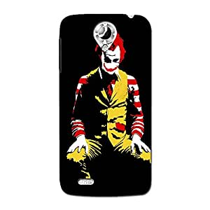 Wrapit Funny Md Hard Back Case Cover For Lenovo S820