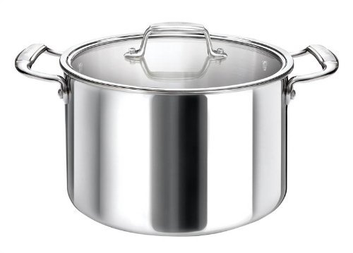 Stock Pot 14L with Glass Cover