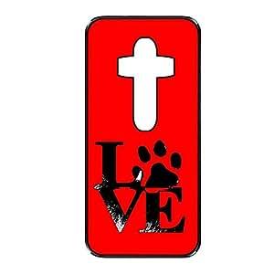 Vibhar printed case back cover for LG G4 DogHandLove