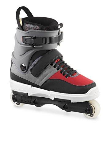 Rollerblade-Mens-NJ4-Street-and-Park-Skate-GrayRed-7
