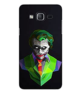 Evaluze joker why so Printed Back Cover for SAMSUNG GALAXY ON5 2015