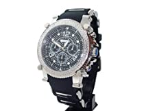 JojinO Mens Sports Diamond Watch 0.25ctw