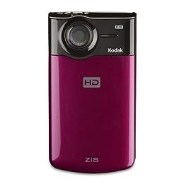Kodak Zi8 Pocket Video Camera Raspberry