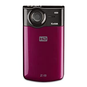 Kodak Zi8 Pocket Video Camera (Raspberry)