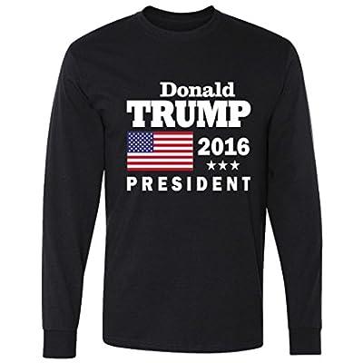 Long Sleeve: Donald Trump 2016 President Shirt