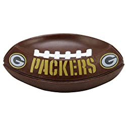 Pack of 2 NFL Green Bay Packers Football Shaped Soap Dishes 6.5""