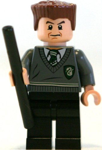 LEGO Gregory Goyle w/ wand - Harry Potter Minifigure - 1