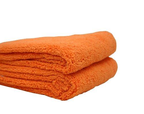 Orange Babies Drying Trockentuch