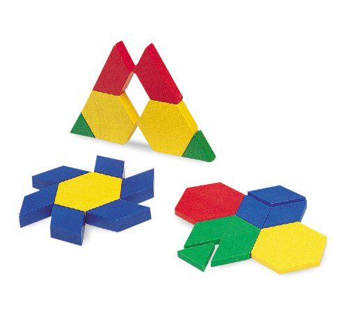 Learning Resources Plastic Pattern Blocks - 1