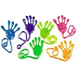 Jumbo Pearlized Sticky Hands (1 dz)