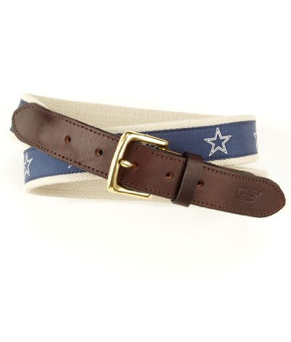 Vineyard Vines Nfl Dallas Cowboys Canvas Club Belt, 44-Inch front-32830