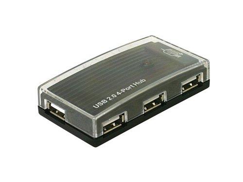DeLock - Concentrateur (hub) - 4 ports - Hi-Speed USB - externe