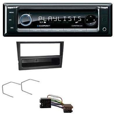 Blaupunkt CD MP3 USB AUX Autoradio für Opel Corsa C Combo Meriva Omega B Vectra C ISO schwarz von Blaupunkt - Reifen Onlineshop
