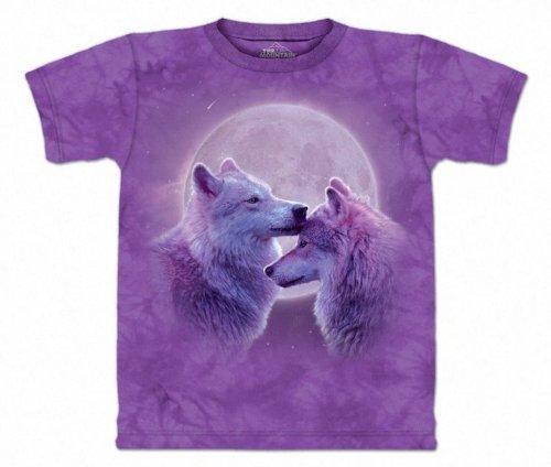 Loving Wolves 100% Cotton T-Shirt (XL)