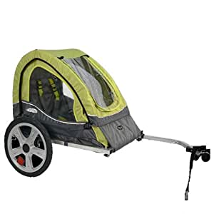 InStep Sync Single Bicycle Trailer, Green/Gray